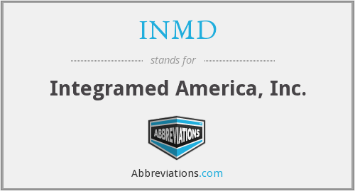 What does INMD stand for?