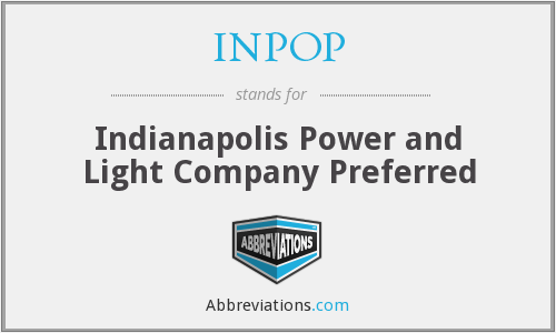 What does INPOP stand for?