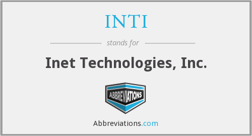 What does INTI stand for?