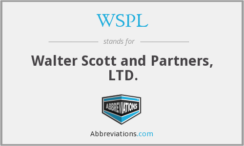 WSPL - Walter Scott and Partners, LTD.