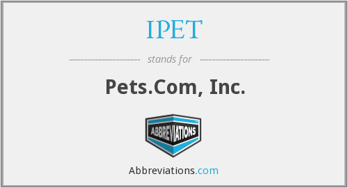 What does IPET stand for?
