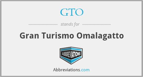 GTO - Gran Turismo Omalagatto
