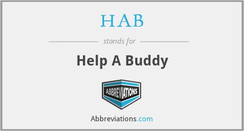 HAB - Help A Buddy