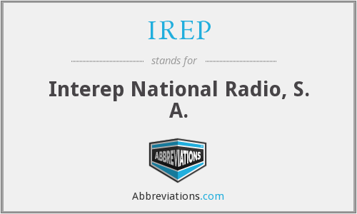 What does IREP stand for?