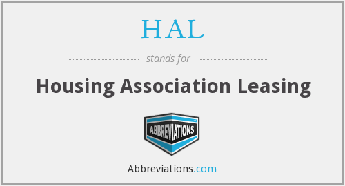 HAL - Housing Association Leasing
