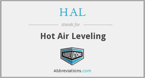 HAL - Hot Air Leveling