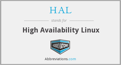 HAL - High Availability Linux