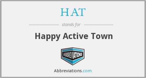 HAT - Happy Active Town