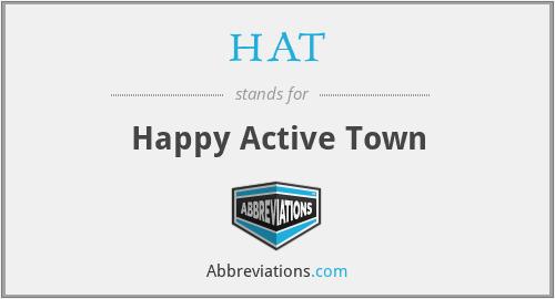 HAT - Happy Active Town