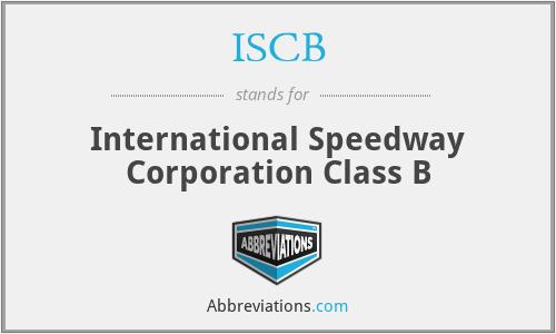 ISCB - International Speedway Corporation Class B