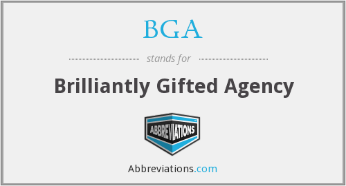 BGA - Brilliantly Gifted Agency