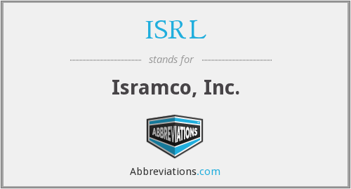 What does ISRL stand for?