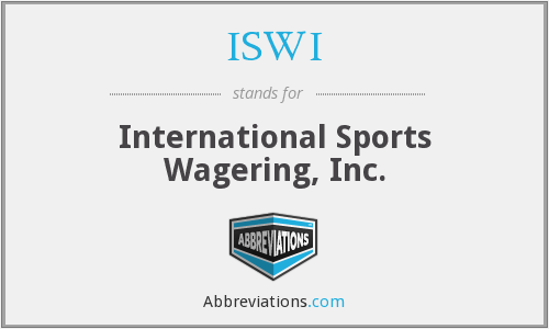 ISWI - International Sports Wagering, Inc.