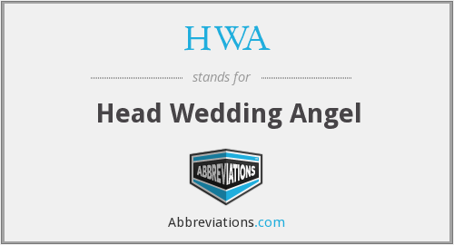 HWA - Head Wedding Angel