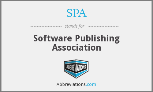 SPA - Software Publishing Association
