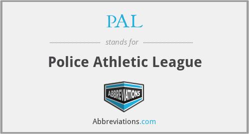 PAL - Police Athletic League