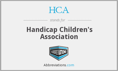 HCA - Handicap Children's Association