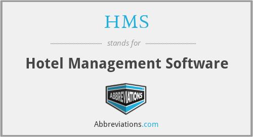 HMS - Hotel Management Software
