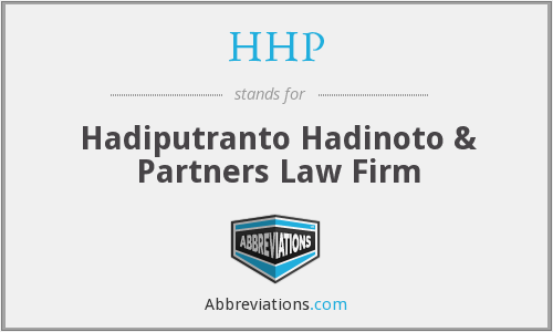 HHP - Hadiputranto Hadinoto & Partners Law Firm