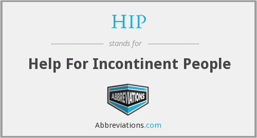 What does incontinent stand for?