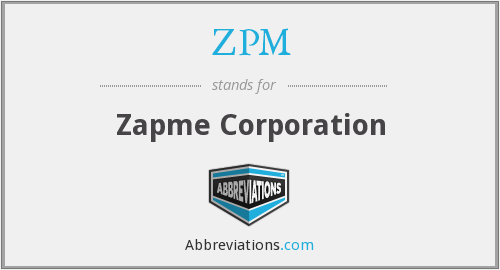 What does IZAP stand for?