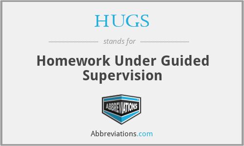 HUGS - Homework Under Guided Supervision