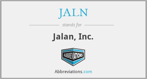 JALN - Jalan, Inc.