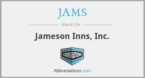 JAMS - Jameson Inns, Inc.