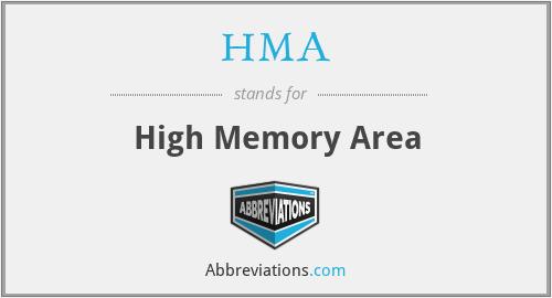 HMA - High Memory Area