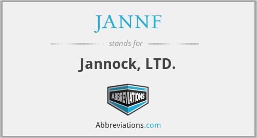 JANNF - Jannock, LTD.