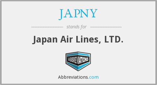 What does JAPNY stand for?