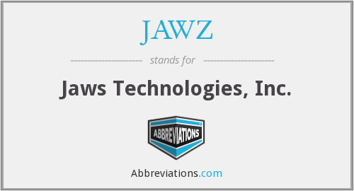 What does JAWZ stand for?