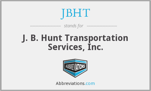 What does JBHT stand for?