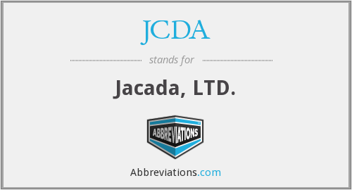 What does JCDA stand for?