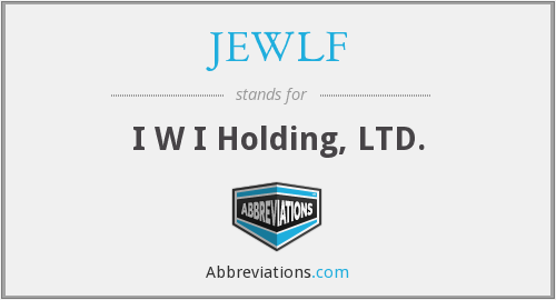 What does JEWLF stand for?