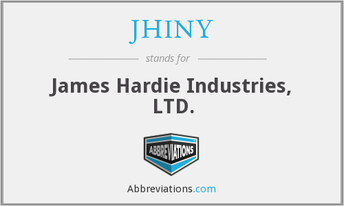 What does JHINY stand for?