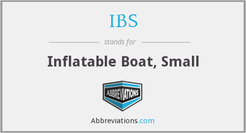 IBS - Inflatable Boat, Small