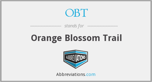 OBT - Orange Blossom Trail