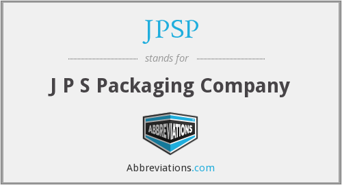 JPSP - J P S Packaging Company