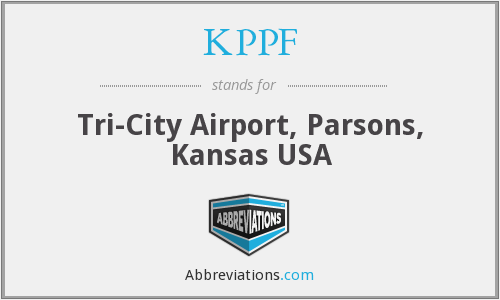 KPPF - Tri-City Airport, Parsons, Kansas USA