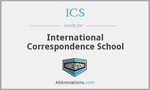 ICS - International Correspondence School