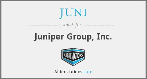 What does JUNI stand for?