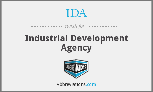 IDA - Industrial Development Agency