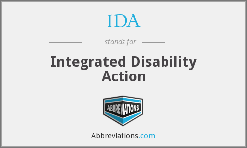 IDA - Integrated Disability Action