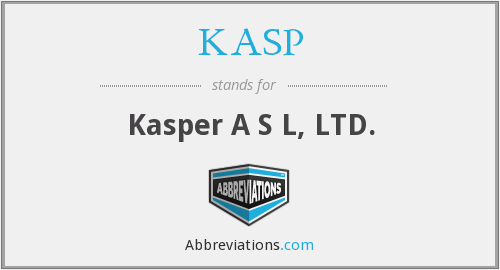 What does KASP stand for?