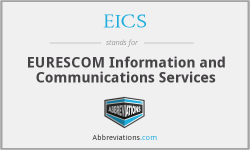 EICS - EURESCOM Information and Communications Services