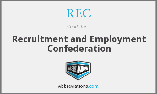 REC - Recruitment and Employment Confederation