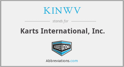 What does KINWV stand for?