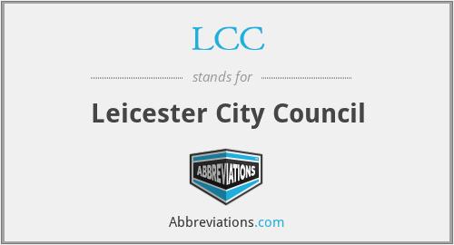 LCC - Leicester City Council