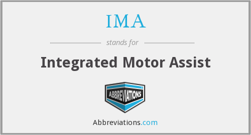 IMA - Integrated Motor Assist